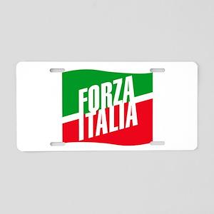 Forza azzurri Aluminum License Plate