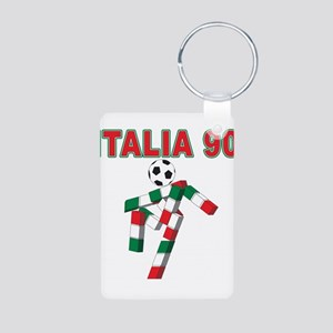 2010 World Cup Italia Aluminum Photo Keychain