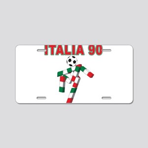 2010 World Cup Italia Aluminum License Plate