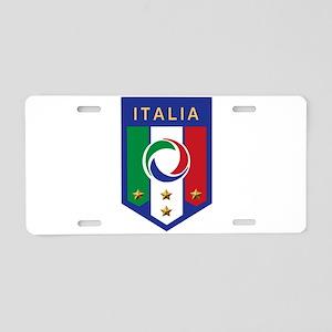 Italian Soccer emblem Aluminum License Plate