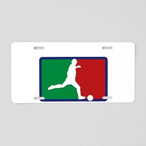 Italian soccer Aluminum License Plate