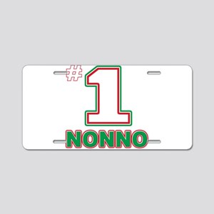 nonno Aluminum License Plate