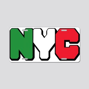 New York Italian pride Aluminum License Plate