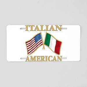 Italian american Pride Aluminum License Plate