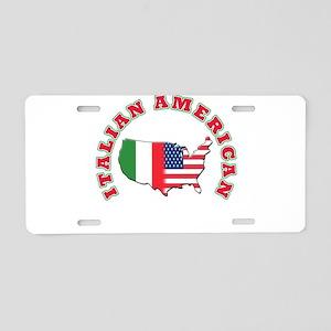 Italian american Aluminum License Plate