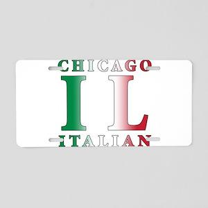 Chicago Italian Aluminum License Plate