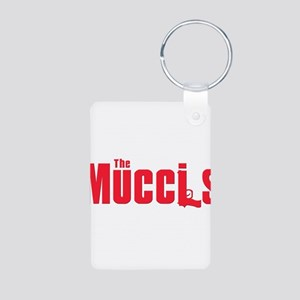 Mucci family Aluminum Photo Keychain