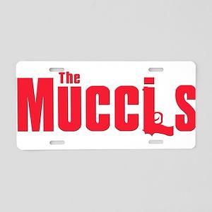 Mucci family Aluminum License Plate