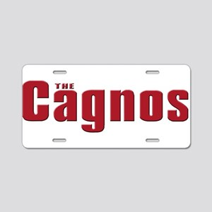 cagno family Aluminum License Plate