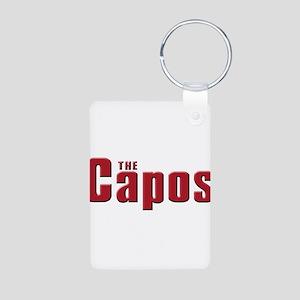 The Capo family Aluminum Photo Keychain