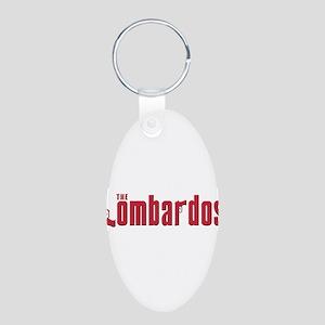 The Lomardo family Aluminum Oval Keychain