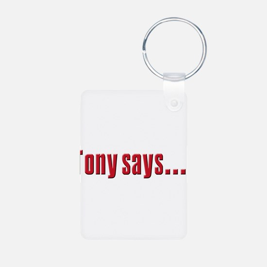Tony Soprano says Keychains
