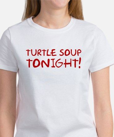 Turtle Soup Tonight Shelby Swamp Man T-Shirt Women