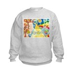 Creation Myth Watercolor Kids Sweatshirt