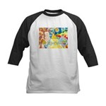 Creation Myth Watercolor Kids Baseball Jersey