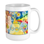 Creation Myth Watercolor Large Mug