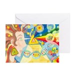 Creation Myth Watercolor Greeting Cards (Pk of 10)