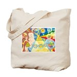 Creation Myth Watercolor Tote Bag