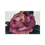 Camellia Rectangle Magnet