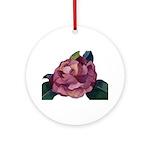 Camellia Ornament (Round)