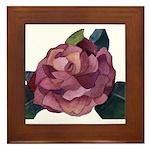 Camellia Framed Tile