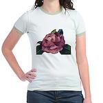 Camellia Jr. Ringer T-Shirt