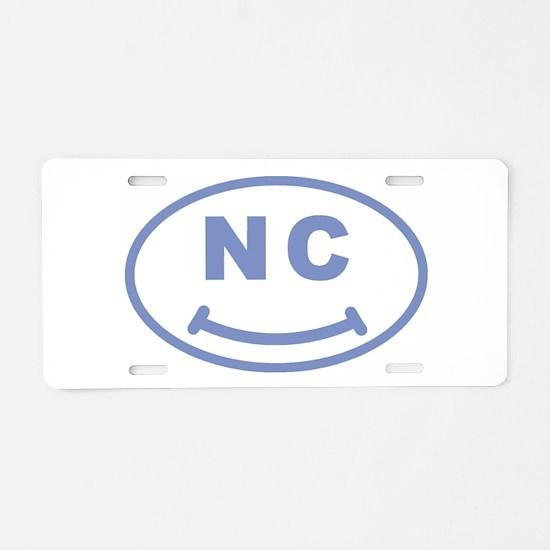 NC Smile(TM) Aluminum License Plate