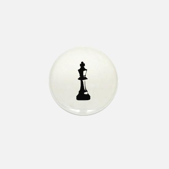 Chess - King Mini Button