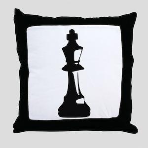 Chess - King Throw Pillow