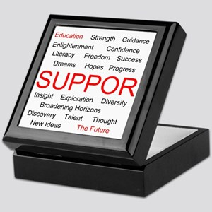Support Education, Support the Future Keepsake Box