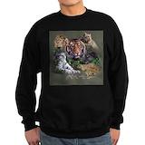 The big cats Sweatshirt (dark)