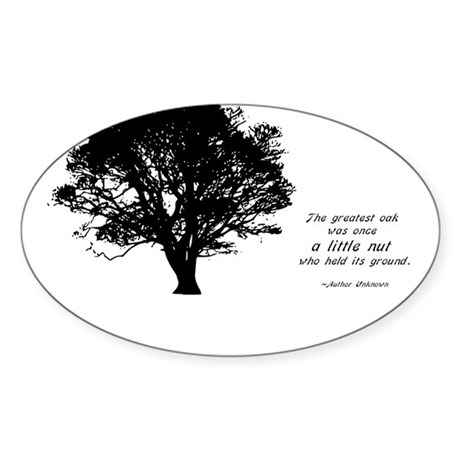 Little nut Sticker (Oval 10 pk)