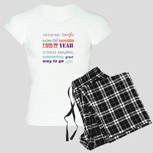 I Did It Women's Light Pajamas