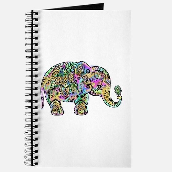 Colorful paisley Elephant Journal