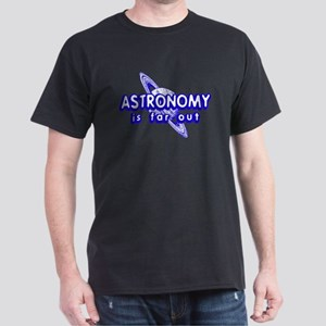 Astronomy is Far Out Black T-Shirt