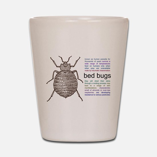 Unique Insects Shot Glass