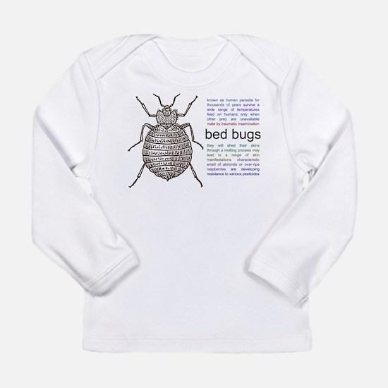 Cute Bugs Long Sleeve Infant T-Shirt