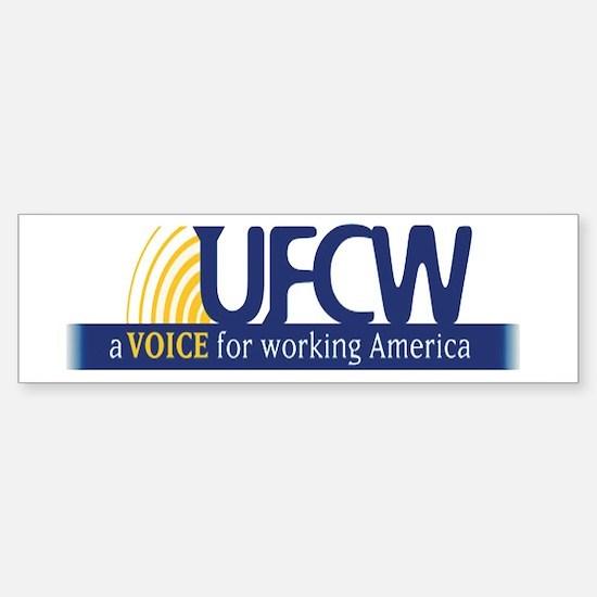 UFCW Sticker (Bumper)