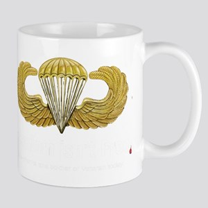 Gold Airborne Wings Mug