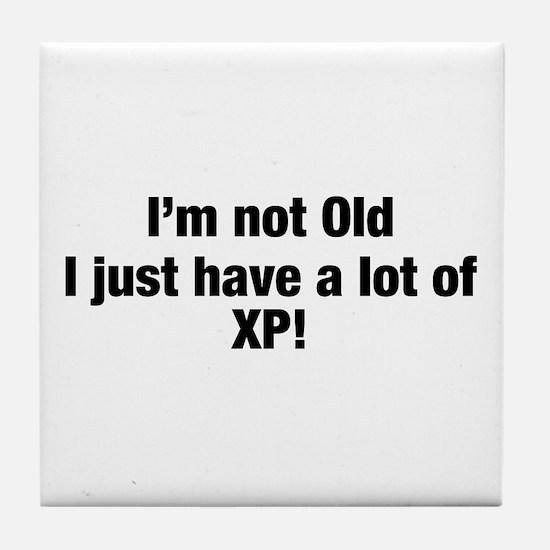 I'm not Old Tile Coaster