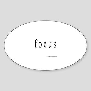 Focus Sticker (Oval)