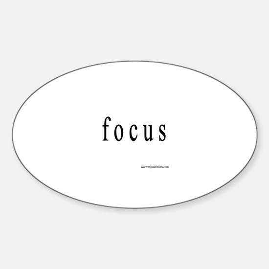Focus Sticker (Oval)