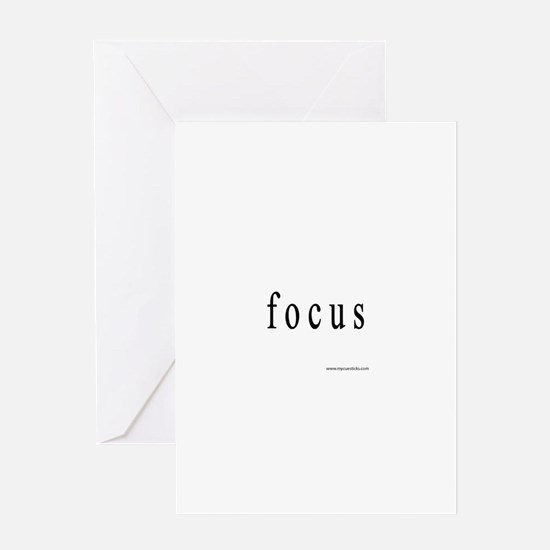 Focus Greeting Card