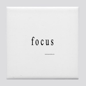 Focus Tile Coaster