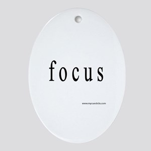 Focus Ornament (Oval)