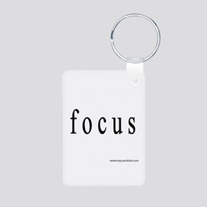 Focus Aluminum Photo Keychain