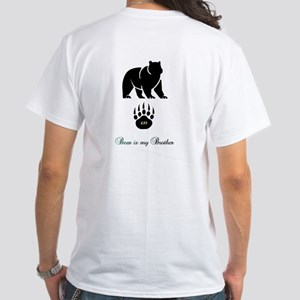 Cherokee Bear Greeting White T-Shirt