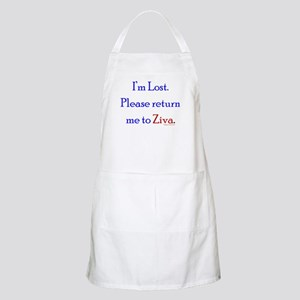 Return Me to Ziva Apron
