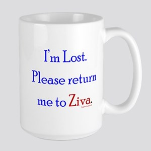 Return Me to Ziva Large Mug