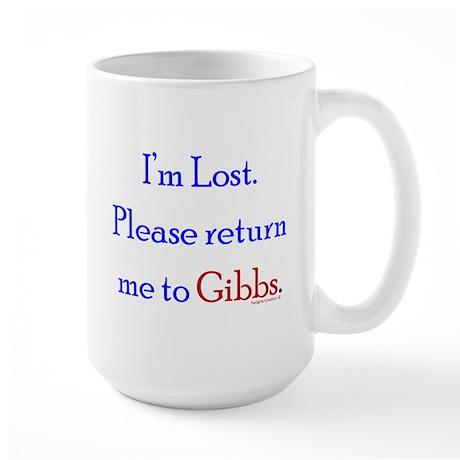 Return Me to Gibbs Large Mug